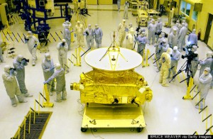NASA's New Horizons space probe (BRUCE WEAVER/AFP/Getty Images)